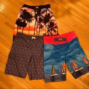 Cat & Jack boy's swimsuits L 12/14